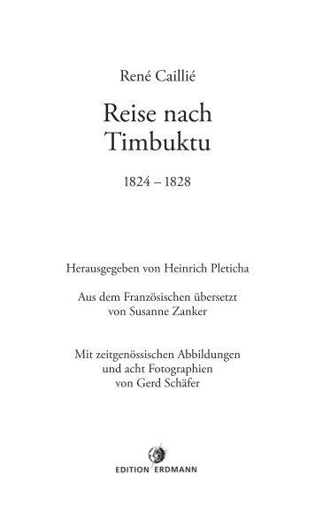 Reise nach Timbuktu - marixverlag.de