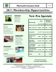 2011 MBR Brochure+App 8x11 04-18.pub - Plymouth Country Club