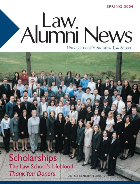 Scholarships - the University of Minnesota Law School