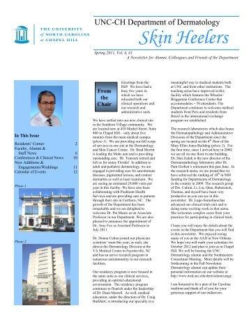 Skin Heelers - UNC School of Medicine - University of North ...