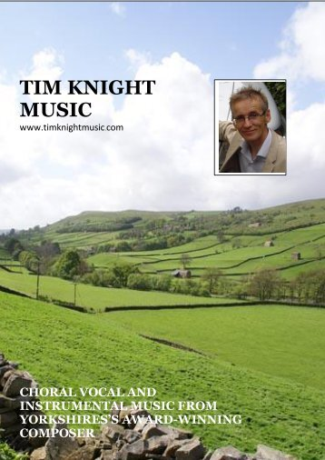 the instrumental pages! - Tim Knight Music