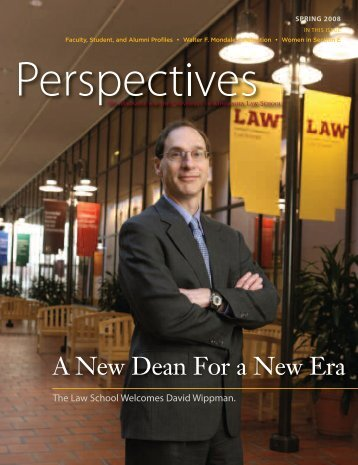 cover S08 - the University of Minnesota Law School