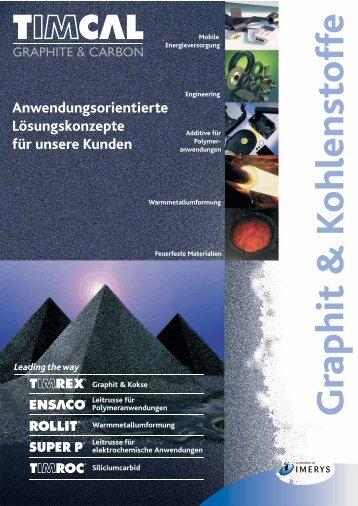 Graphit & Kohlenstoffe - Timcal Graphite