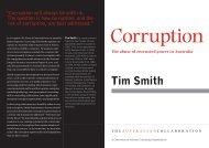 Tim Smith - The Australian Collaboration