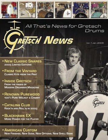 Gretsch 2005 - drumarchive.com
