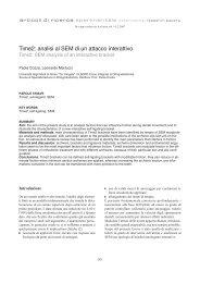 Time2: analisi al SEM di un attacco interattivo - Società Italiana di ...