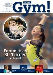 Fantastisch EK Turnen in Brussel Laure en Nicolas - GymFed