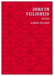 Zorg en veiligheid op het Albeda College. Leren - Huiselijk Geweld