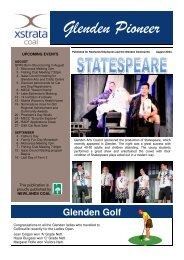 August Issue 2011 - Glenden