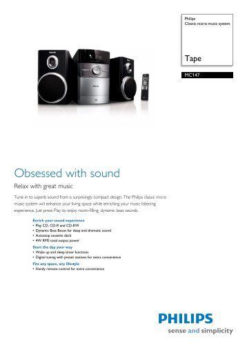 Dcm1075 98 Philips Cube Micro Music System Yardley