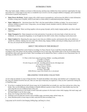Singable songs for story times pdf.pub - Nancy Stewart