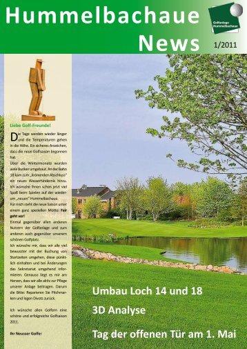 Hummelbachaue News - Golfclub Hummelbachaue