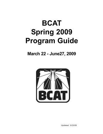 Bcat Magazines