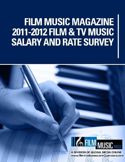 Salary Survey 2011-2012 Final - Film Music Network