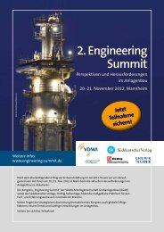 Programmbroschüre PDF (612 KB) - Engineering Summit