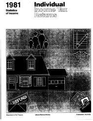 1981 ' Individual - Internal Revenue Service