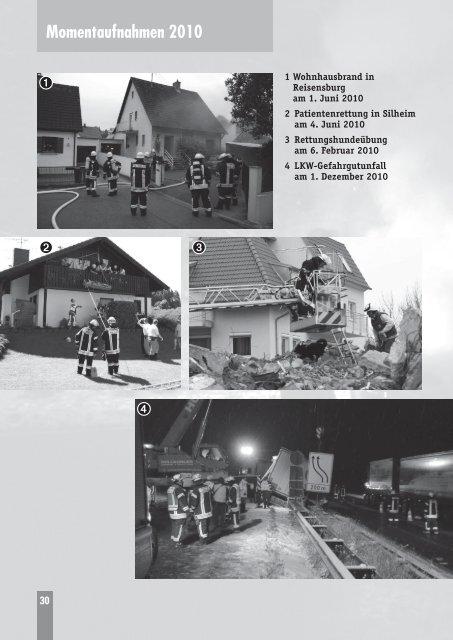 Das Feuerwehrjahr 2010 - Freiwillige Feuerwehr Günzburg