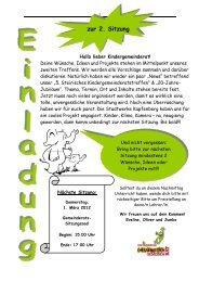 Einladung und Protokoll 2. Sitzung (215 KB) - .PDF