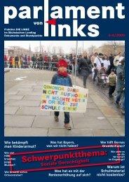pvl 3-4/2009 - Fraktion DIE LINKE im Sächsischen Landtag