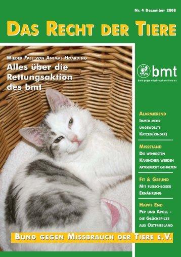 Interview - Bund gegen Missbrauch der Tiere ev