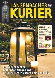 15. Ausgabe Dezember - Langenbach