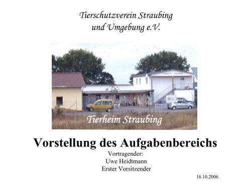 tierheim straubing