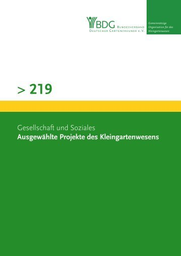 219 - Bundesverband Deutscher Gartenfreunde e. V.