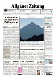 Allgäuer Zeitung, Kempten vom 10.07.2012 - Allgäuer Zeitung als ...
