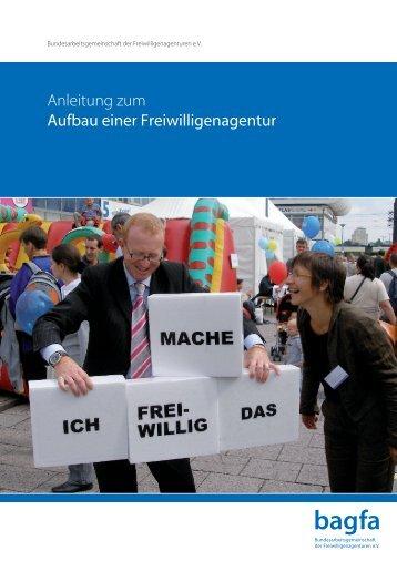 Anleitung zum Aufbau einer Freiwilligenagentur - Rehburg-Loccum ...
