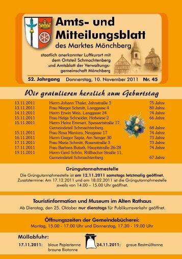 Amts - Mönchberg