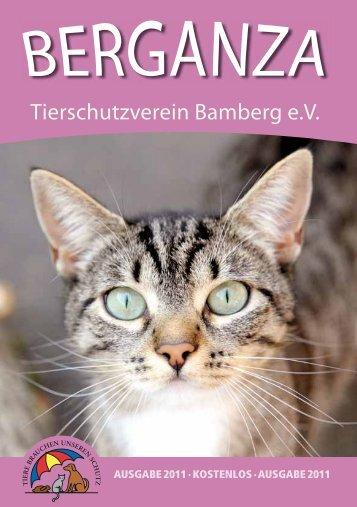 Vereinsheft 2011 - Tierheim Bamberg