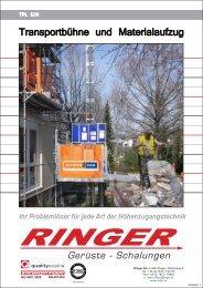 ANSPRECHPARTNER - Ringer KG