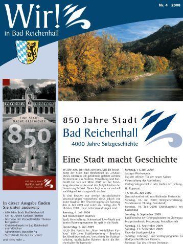 Ausgabe November 2008 - Stadt Bad Reichenhall