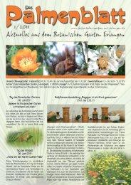 1/2011 - Botanischer Garten Erlangen