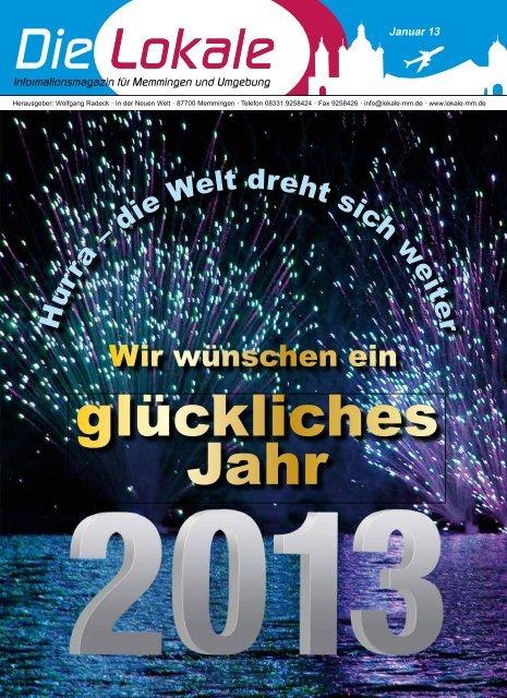 Download Ausgabe Januar 2013 - Lokale Zeitung Memmingen