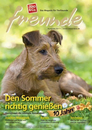 freunde-Magazin 2011-02 (PDF) - Zoo & Co. Siegen