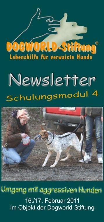 Schulungsmodul 4 - Dogworld-Stiftung