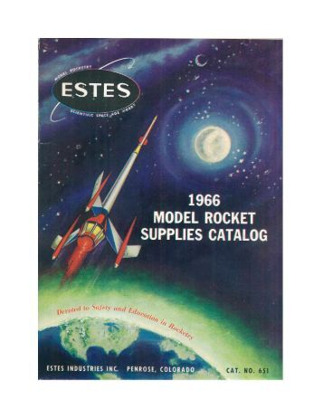 Download 1966 Catalog - Estes Rockets