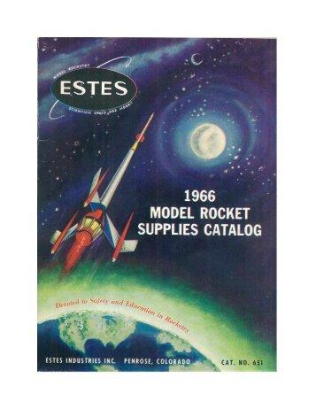 Download 1966 Catalog - Estes Rockets