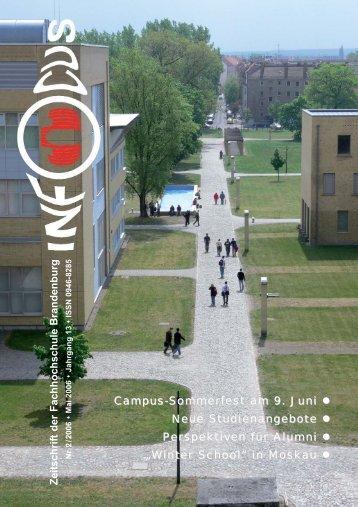 Campus-Sommerfest - Fachhochschule Brandenburg