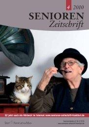 Die gesamte Ausgabe 4/2010 als pdf-Datei - Senioren Zeitschrift ...