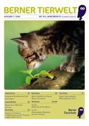 berner tier w elt - Tierschutzverein Bern