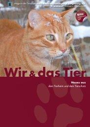 Wir & das Tier Magazin des Tierschutzvereins Bochum-Hattingen ...