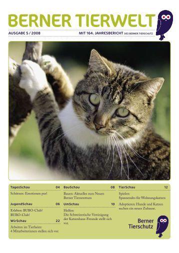 Ausgabe 1/2008 - Tierschutzverein Bern