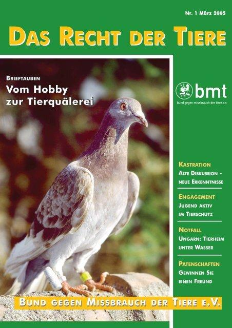 RDT 1/2005 - Bund gegen Missbrauch der Tiere ev