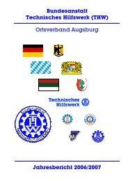 THW Augsburg - Jahresbericht 2006/2007 - THW OV Augsburg