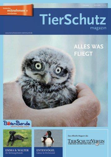 TierSchutzMagazin Nr. 11 - TierSchutzVerein Gross