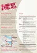 Programme Flyer - Basel - Page 2