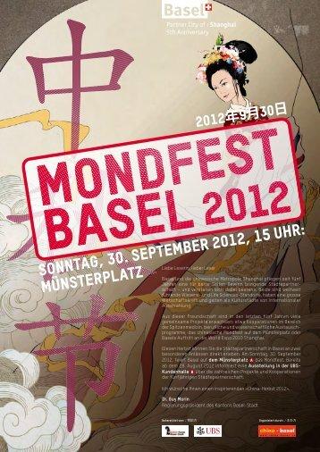 Programm Flyer - Basel