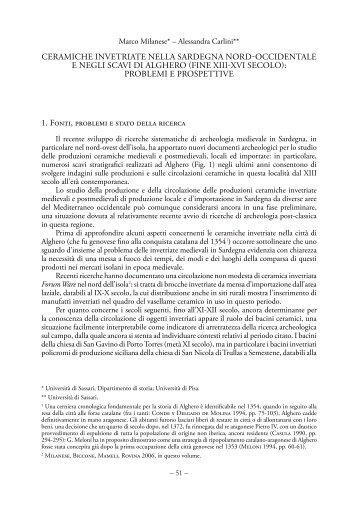 7 - L'insegnamento di Archeologia Medievale nell'Università di ...